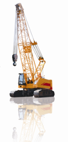 Powerful Lifting Capacity and Convenient Transportation of 80 Ton Crawler Crane