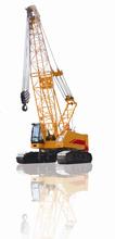 Powerful Lifting Capacity and Convenient Transportation of 80 Ton Crawler Crane