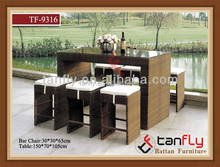2014 new style modern bar sets outdoor furniture TF-9316