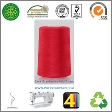 40/2 100% spun polyester sewing thread