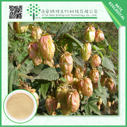 Manufacturer high quality Hops Extract 4:1 in bulk supply with low price
