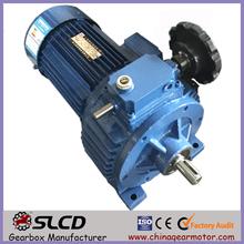 manufacturer of electric motor gear reductor stepless variator
