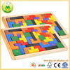 Intellectual Tetris Game Brain Teaser Wood Puzzles