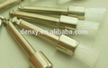 Hecho en china por la fda materiales dentales cónicos/profilaxis plana cepillo