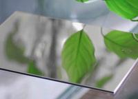 Silver Mirror Aluminum Composite Panel