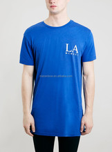 2015 fashion long tall tee mens t shirt with side zipper detail long style t shirts,A longline t shirts printed custom wholesale
