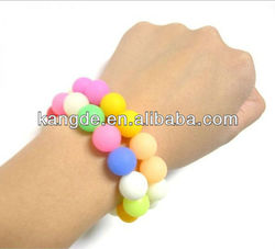 Colorful Fashion Silicone Bracelet for Women