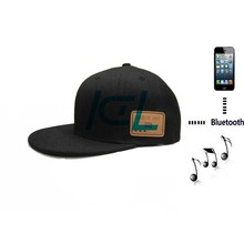 Bluetooth Microphone Function and Bluetooth Connectors Baseball hat wireless headphone