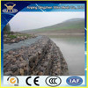 PVC coated and hot-dipped galvanizing gabion sea defence