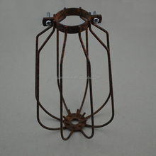 Most popular products tungsten filament bulb metal bird cage hanging light