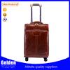 luggage manufacturer leather travel suitcase China wholesale PU luggage bag