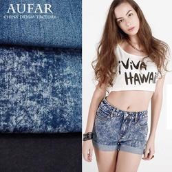 3541B138 Women/ladies/girls denim shorts fabric