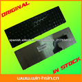 Teclado del ordenador portátil de ASUS G60 A53 N61
