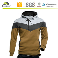 New Men's Winter Slim Hoodie Warm Hooded Sweatshirt Coat Jacket