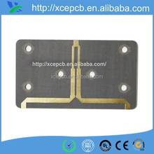 Rogers material immersion gold 4 layer pcb bare board with 1.6mm board thickness