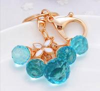 Lady bag crystal tessel ornaments