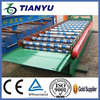 Material Metal hydraulic shearing sb roof tile & wall panels forming machine