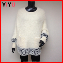aztec wool knitted pattern ladies winter ponchos cape