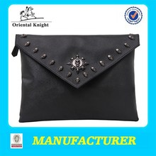 a3 size portfolio bag portfolio folder in PU leather portfolio case
