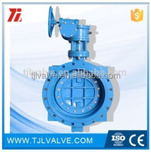 double eccentric flange di/wcb/ss butterfly valve pn10/pn16 risilient seat water use