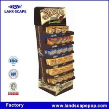 Excellent quality cadbury chocolate display stand/paper display stand for chocolate