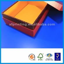 Shenzhen Xiangfa Printing perfume treasure chest kraft gift boxes wholesale