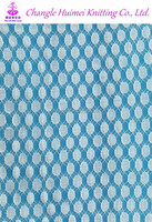 Stretch Bubble Lace Fabric With Big Dot For Baby Clothing