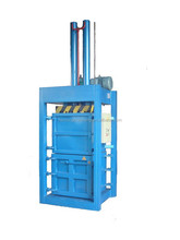 Vertical hydraulic transmission factory direct hot sale of used clothing/textile baler machine