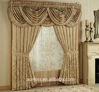 Hotel Guestroom Blackout Curtains with Valance Curtain Valance