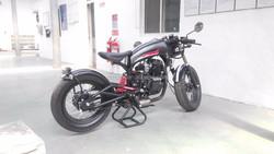 250cc retro street motorcycle