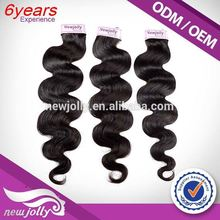 Hot selling grace hair products with closure,Brand new Remy Track Hair Extensions