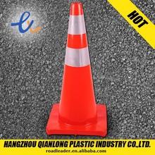 roadway super PVC plastic 100cm traffic cone