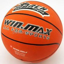Popular design good quality colorful make your own rubber basketball