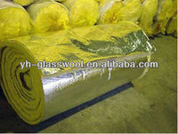 Glass wool insulation roll fireproof covering building materials