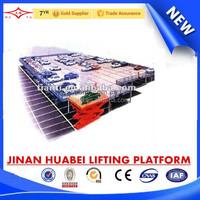 China gold supplier car lift platform & mobile lift platform