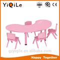 los niños de color rosa mesa de muebles de comedor de los niños mesa de estudio