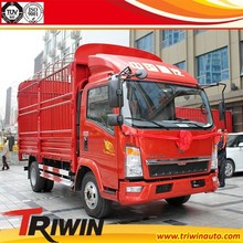 factory sell cheap price EURO 4 diesel engine 115hp 85KW 4x2 drive wheel 1 ton 1.5 ton 1.8 ton 2 ton mini animal bar truck