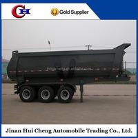 3 axle 60ton tipper trailer heavy duty dump semi trailer hot sale