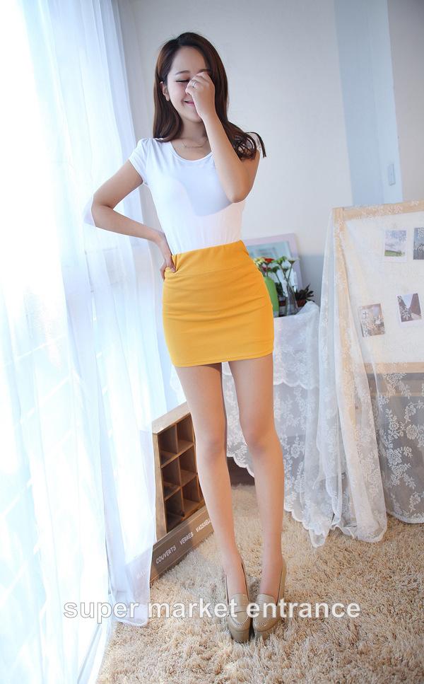 юбка оранжевая фото