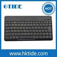 Gtide 10 inch ultra thin abs waterproof tablet bluetooth keyboard case for ipad