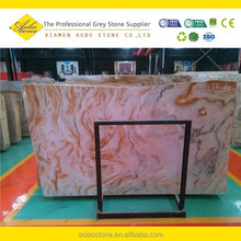 Hot sale polished Dream of gold onyx Slab and Tile