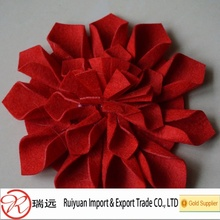 Handmade felt flower decorations