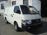 Gasoline & Diesel & CNG + Gasoline Standard Roof Cargo Van