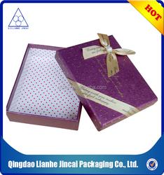 custom jewelry paper gift box