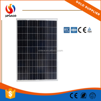 Solace best price 100 watt solar panel wholesale used in project
