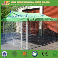 2.3x2.3x1.2m middle outdoor chain link dog kennels & dog cages & dog runs dog fence panel