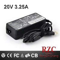 RZC ac adapter for lenovo 20v3.25a laptop charger