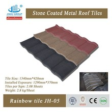 Colorful Aluminum Roof Tile