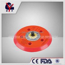 "6"" air rubber sander pad rubber polishing pad"