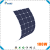 100W flexiable solar panel sunpower cells charger for boat and car battery